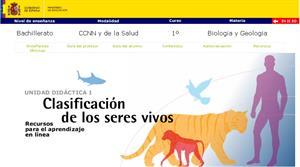 Área de Ciencias de la Naturaleza. Biología para alumnos de bachiller