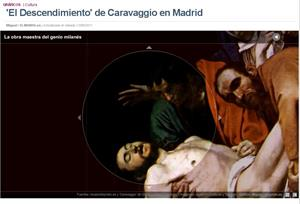 El Descendimiento de Caravaggio (elmundo.es)