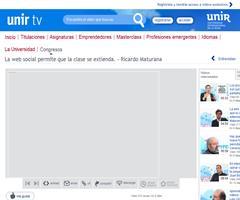 "Entrevista a Ricardo A. Maturana: ""La web social permite que la clase se extienda"" (unir.tv)"