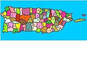 Mapa interactivo de Puerto Rico: comunidades municipios y centros administrativos (luventicus.org)