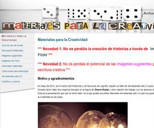 Materiales para la creatividad