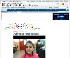 Así ven los niños la crisis | El Mundo