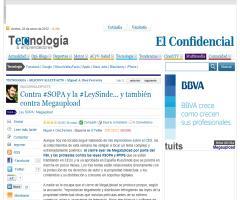 Contra #SOPA y la #LeySinde... y también contra Megaupload #siliconvalleyfacts