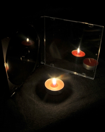 The Candle Illusion: Virtual Images