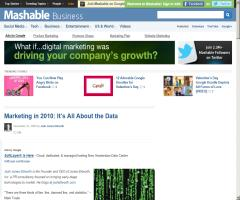 Marketing in 2010: It's All About the Data