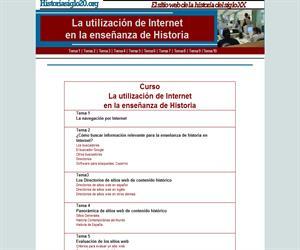 Internet en la enseñanza de historia