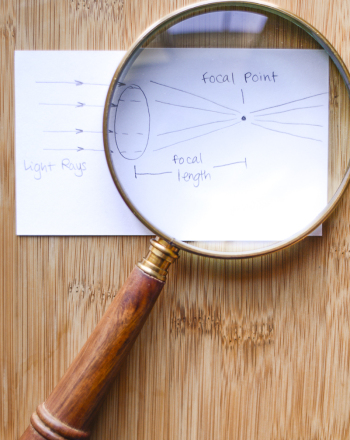 Magnifying Power and Focal Length of a Lens