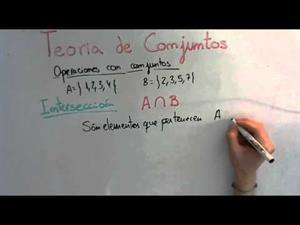 11 Teoria de Conjuntos || Intersección de Conjuntos