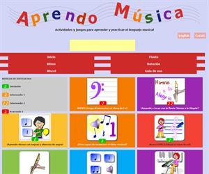Aprendo Musica y solfeo con las TIC (Primaria)