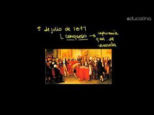 Venezuela: Julio 1811. Acta Declaración Independencia