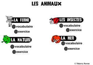 Los animales (Lexiqueflee)