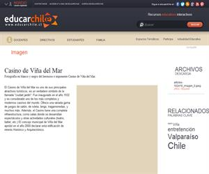 Casino de Viña del Mar (Educarchile)