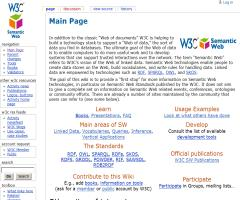 Semantic Web Standards Wiki