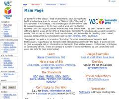 Semantic Web Standards Wiki