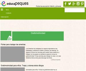 Fichas de Grafomotricidad para niños: Fichas educativas para reforzar la Grafomotricidad.