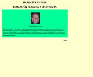 Matemáticas para Educación Primaria y Secundaria