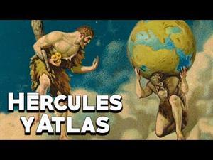 Hércules y Atlas: las manzanas doradas (Los doce trabajos de Hércules)
