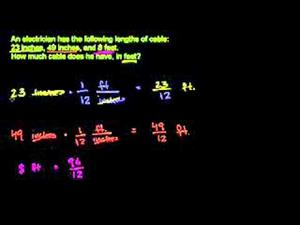 Sumando Diferentes Unidades De Longitud (Khan Academy Español)