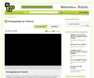 Passeig geològic per Collserola (Edu3.cat)