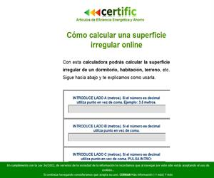 Como calcular una superficie irregular