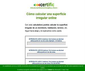 Como calcular una superficie irregular