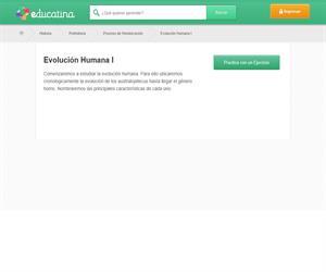 Evolución humana (I)