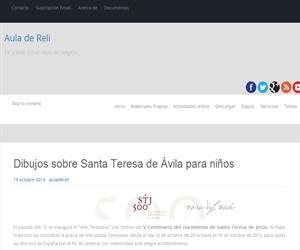 Dibujos sobre Santa Teresa de Ávila
