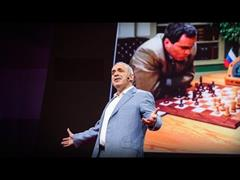 Don't fear intelligent machines. Work with them (Garry Kasparov. TED)
