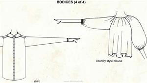 Bodice 4  (Visual Dictionary)