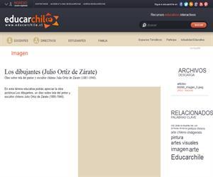 Los dibujantes (Julio Ortíz de Zárate) (Educarchile)