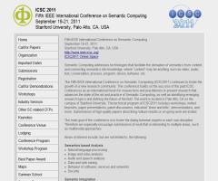 Fifth IEEE International Conference on Semantic Computing 2011
