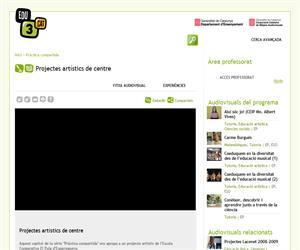 Projectes artístics de centre (Edu3.cat)