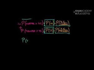 Ejemplo de probabilidad dependiente 2 (Khan Academy Español)