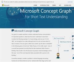 El Grafo de Conceptos de Microsoft