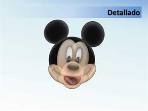 Dibuja a Mickey Mouse con Power Point