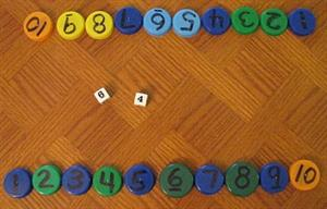 MADS: juego de mesa para practicar sumas, restas, multiplicaciones y divisiones