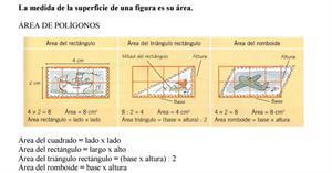 Área de las figuras planas (Colegio Bretón de los Herreros)