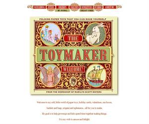 The toy maker: todo tipo de bonitas manualidades (en inglés)