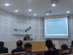 Los socios europeos del proyecto +Resilient conocen qué hace Aragón Open Data Pool en materia de Economía Social