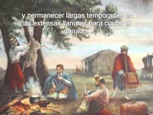 """""""El gaucho; protagonista de la campaña oriental"""""""