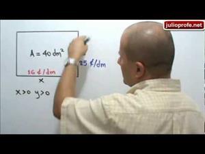 Problema resuelto con Multiplicadores de LaGrange (JulioProfe)