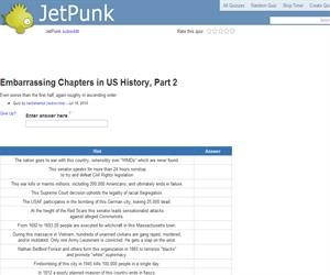 Embarrassing Chapters in US History, Part 2