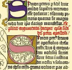 Manual sobre las letras capitulares. Juan- José Marcos García