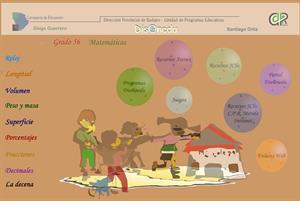 Actividades interactivas de matemáticas (Dis@nedu)