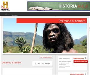 Del mono al hombre (Canal Historia)