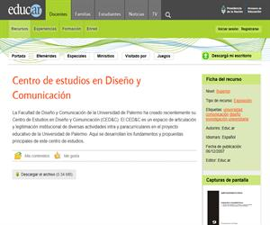 Centro de estudios en Diseño y Comunicación