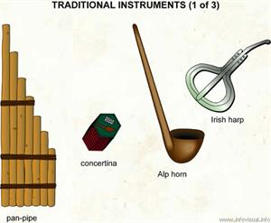 Traditional instruments (1 of 3)  (Visual Dictionary)