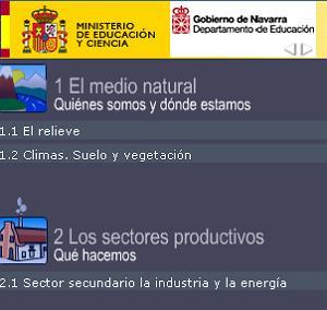 Proyecto Sextante. Medio Natural y Sectores Productivos