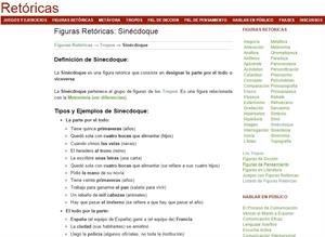Sinécdoque: definición, ejemplos y ejercicios (retoricas.com)