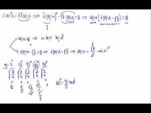 Ecuación trigonométrica